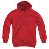 Steven Universe Beach Hunk Youth Pullover Hoodie Sweatshirt Red