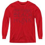 Steven Universe Beach Hunk Youth Long Sleeve T-Shirt Red