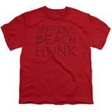 Steven Universe Beach Hunk Youth T-Shirt Red