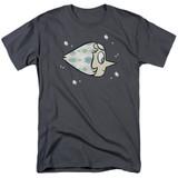 Steven Universe Pearl Adult T-Shirt Charcoal