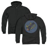 Steven Universe Cool Dad (Back Print) Adult Zipper Hoodie Sweatshirt Black