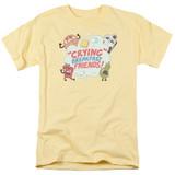 Steven Universe Crying Breakfast Friends Adult T-Shirt Banana