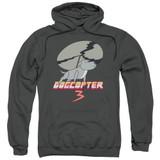 Steven Universe Dogcopter 3 Adult Pullover Hoodie Sweatshirt Charcoal