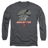 Steven Universe Dogcopter 3 Adult Long Sleeve T-Shirt Charcoal