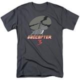 Steven Universe Dogcopter 3 Adult T-Shirt Charcoal