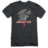 Steven Universe Dogcopter 3 Adult 30/1 T-Shirt Charcoal