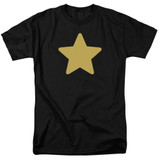 Steven Universe Greg Star Adult T-Shirt Black
