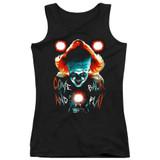 IT Dead Lights Junior Women's Tank Top T-Shirt Black