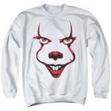 IT Chapter Two Smile Adult Crewneck Sweatshirt White