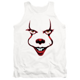 IT Chapter Two Smile Adult Tank Top T-Shirt White