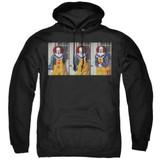 IT 1990 Joke Adult Pullover Hoodie Sweatshirt Black