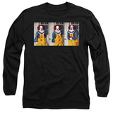 IT 1990 Joke Adult Long Sleeve T-Shirt Black