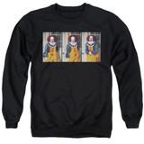 IT 1990 Joke Adult Crewneck Sweatshirt Black