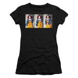 IT 1990 Joke Junior Women's T-Shirt Black
