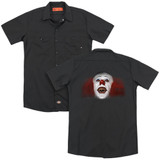 IT 1990 Every Nightmare You've Ever (Back Print) Adult Work Shirt Black