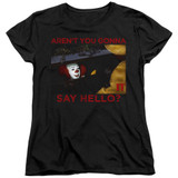 IT 1990 Hello Women's T-Shirt Black