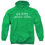 It's Always Sunny In Philadelphia Paddy's Logo Adult Pullover Hoodie Sweatshirt Kelly Green