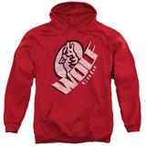 It's Always Sunny In Philadelphia Wolf Cola Adult Pullover Hoodie Sweatshirt Red