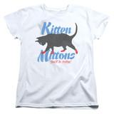 It's Always Sunny In Philadelphia Kitten Mittons Women's T-Shirt White