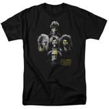 It's Always Sunny In Philadelphia Rocker Heads Adult 18/1 T-Shirt Black