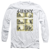 It's Always Sunny In Philadelphia Rock Photos Adult Long Sleeve T-Shirt White