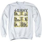 It's Always Sunny In Philadelphia Rock Photos Adult Crewneck Sweatshirt White