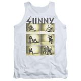 It's Always Sunny In Philadelphia Rock Photos Adult Tank Top T-Shirt White
