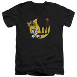 It's Always Sunny In Philadelphia Pile Adult V-Neck T-Shirt Black