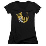 It's Always Sunny In Philadelphia Pile Junior Women's V-Neck T-Shirt Black