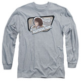 Ferris Bueller's Day Off Grace Adult Long Sleeve T-Shirt Athletic Heather