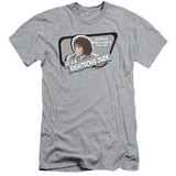 Ferris Bueller's Day Off Grace Adult 30/1 T-Shirt Athletic Heather