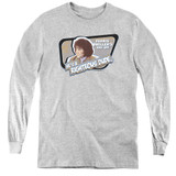 Ferris Bueller's Day Off Grace Youth Long Sleeve T-Shirt Athletic Heather