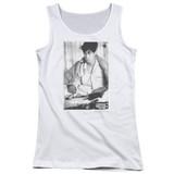 Ferris Bueller's Day Off Cameron Junior Women's Tank Top T-Shirt White