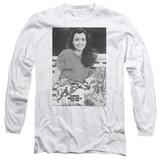 Ferris Bueller's Day Off Sloane Adult Long Sleeve T-Shirt White
