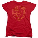 Ferris Bueller's Day Off Abe Froman Women's T-Shirt Red