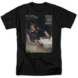 Scarface Sit Back Adult 18/1 T-Shirt Black