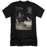 Scarface Sit Back Adult 30/1 T-Shirt Black