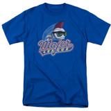 Major League Title Adult 18/1 T-Shirt Royal Blue