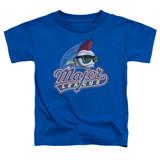 Major League Title Toddler T-Shirt Royal Blue