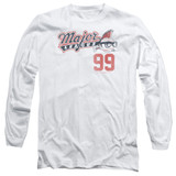 Major League 99 Adult Long Sleeve T-Shirt White