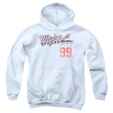 Major League 99 Youth Pullover Hoodie Sweatshirt White
