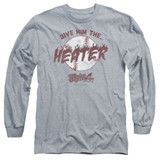 Major League The Heater Adult Long Sleeve T-Shirt Athletic Heather