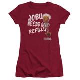 Major League Jobu Needs A Refill Junior Women's T-Shirt Cardinal
