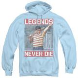 The Sandlot Legends Adult Pullover Hoodie Sweatshirt Light Blue