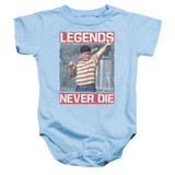 The Sandlot Legends Baby Onesie T-Shirt Light Blue