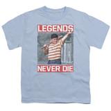 The Sandlot Legends Youth T-Shirt Light Blue