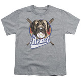 The Sandlot The Beast Youth T-Shirt Athletic Heather