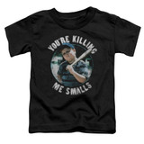 The Sandlot Small Ham Toddler T-Shirt Black