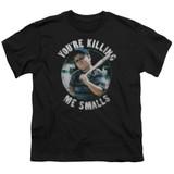 The Sandlot Small Ham Youth T-Shirt Black