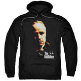 Godfather Don Vito Adult Pullover Hoodie Sweatshirt Black